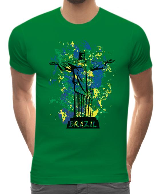 T shirt brazil 744gm citeesart for Womens brazil t shirt