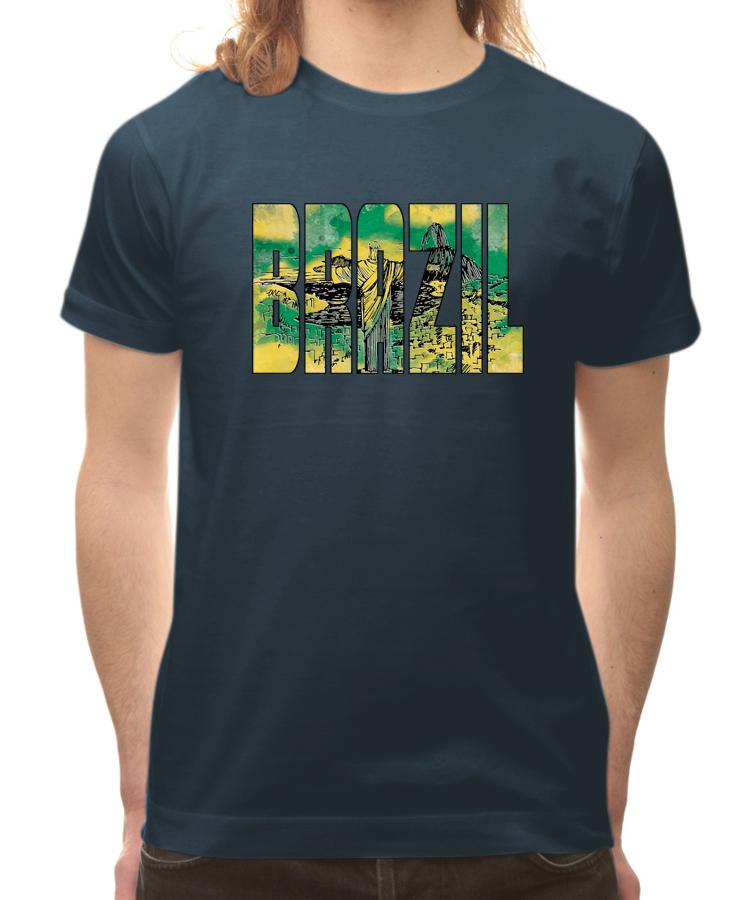 T shirt brazil 886dbm citeesart for Womens brazil t shirt